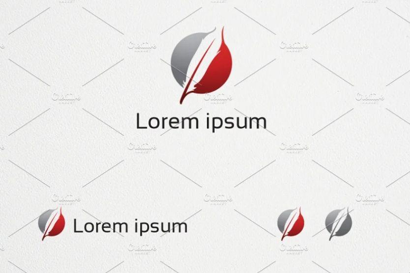 Creative Feather Logo Designs