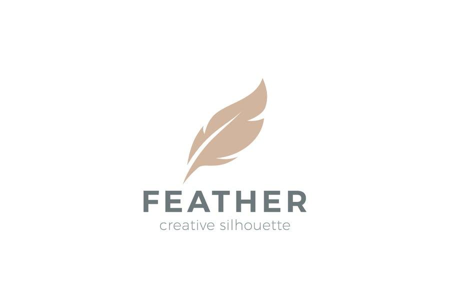 Creative Feather Logotype