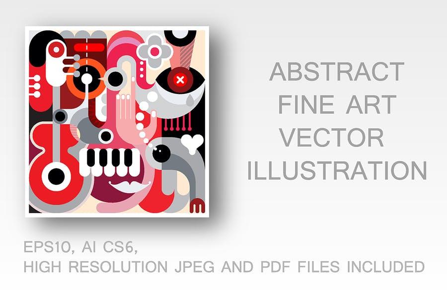 Creative Fine Art Vector Backgrounds