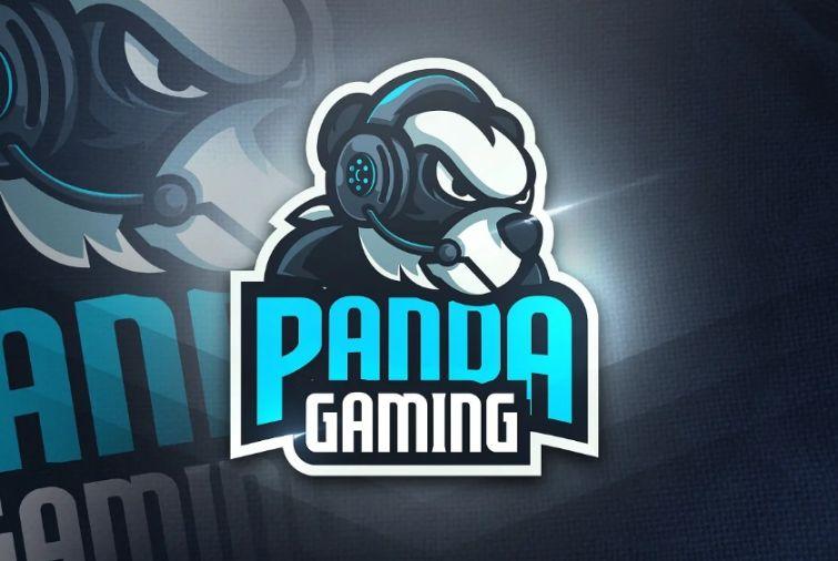 Creative Gaming Panda Logotype