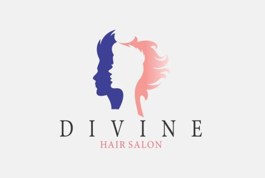 Creative Hair Stylist Logo Design
