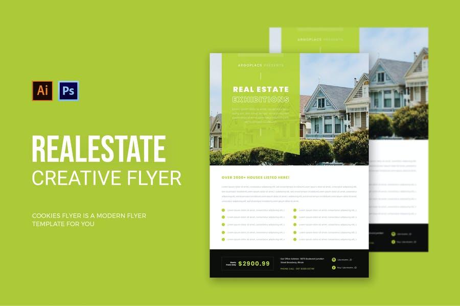 Creative House Sale Flyer
