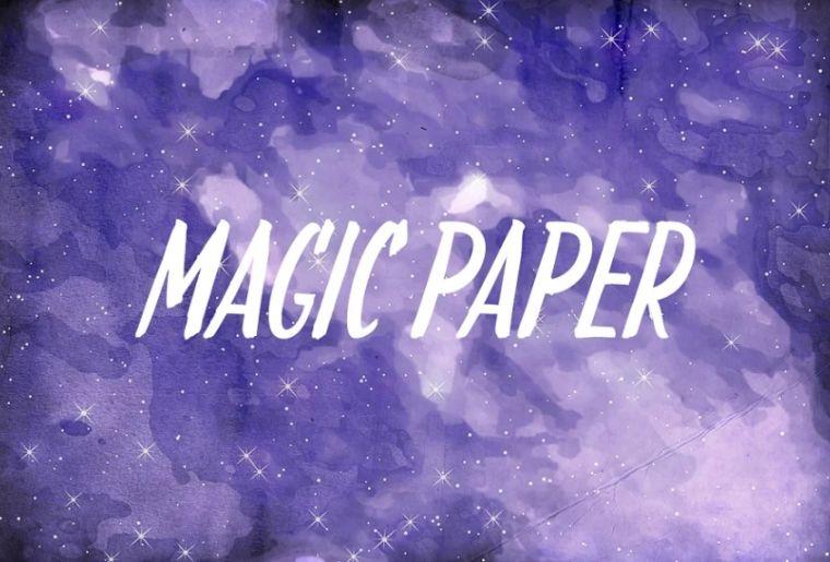 Creative Magic Paper Texture