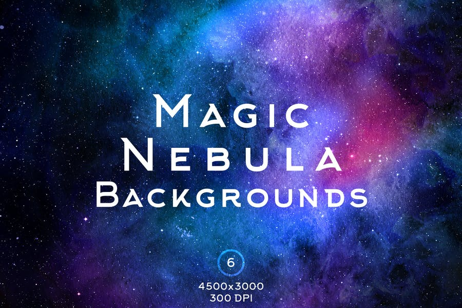 Creative Nebula Space Backgrounds
