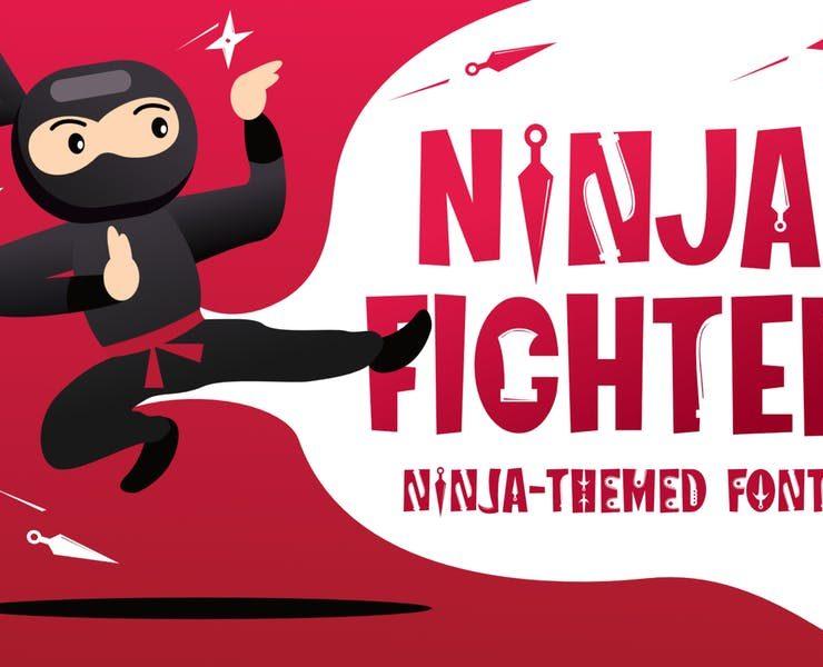 15+ Best Ninja Fonts Download TTF   OTF