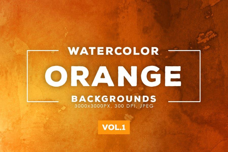 Creative Orange Color Backgrounds