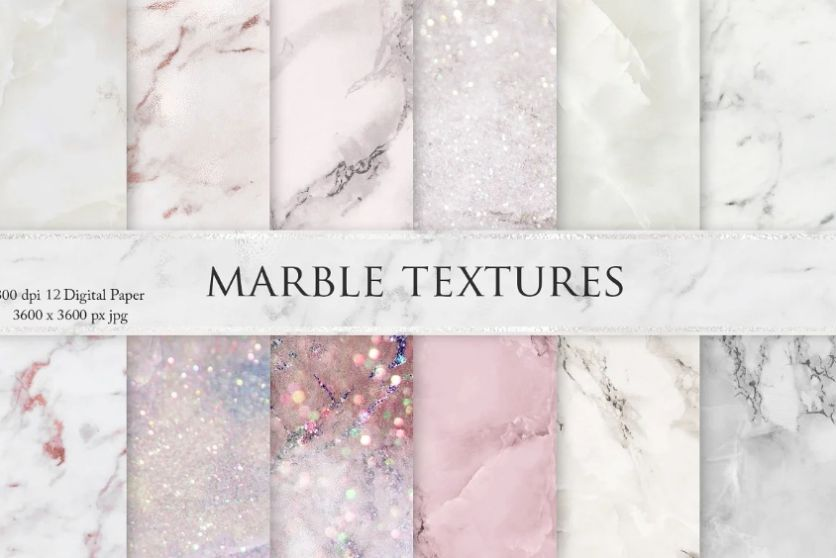 Creative Pink Marble Background