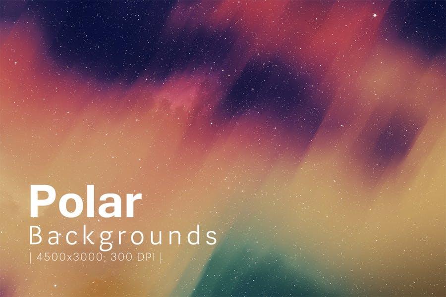 Creative Polar Style Backgrounds