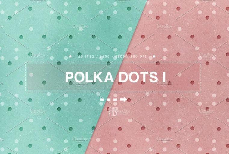 Creative Polka Dot Backgrounds