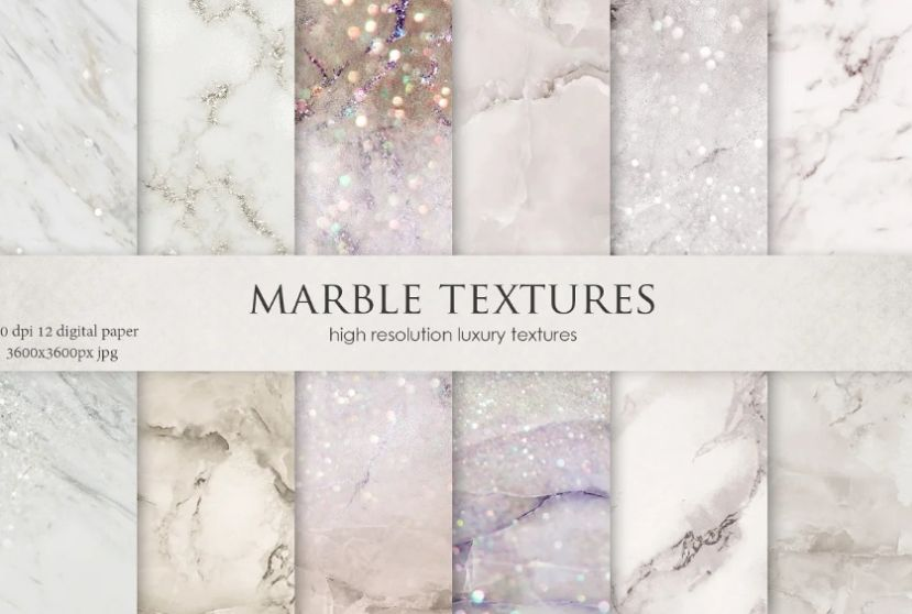 Creative Shimmer Marble Background