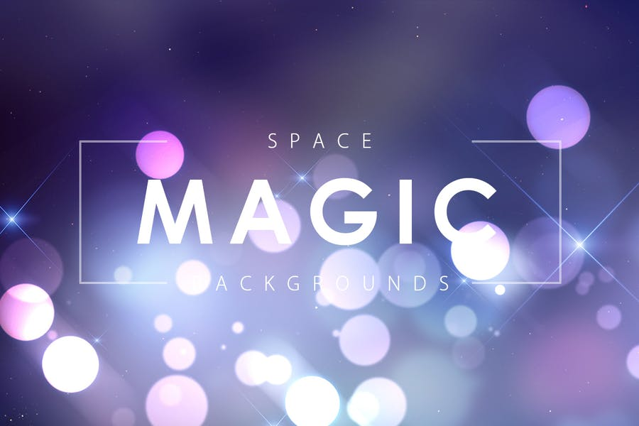 Creative Space Magic Backgrounds