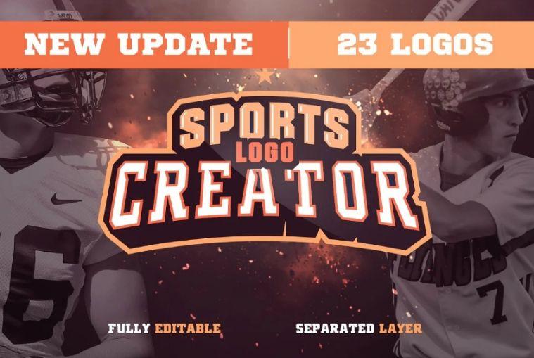 Creative Sports Logo Creator Kit
