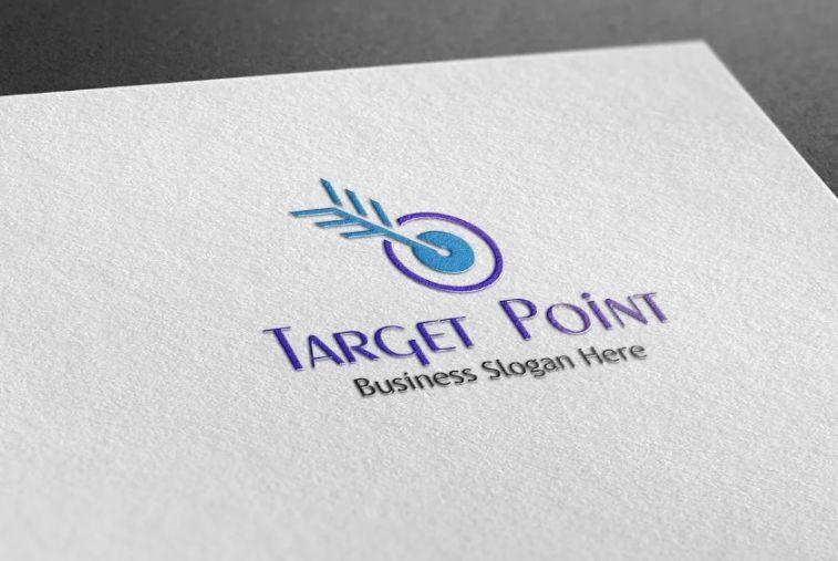 Creative Style Target Logo Idea