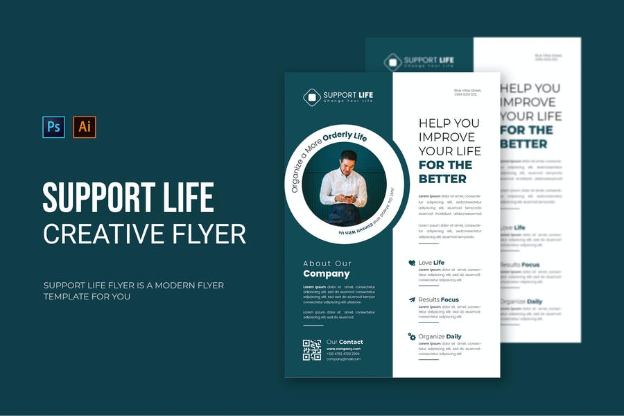 Creative Support Life Flyer