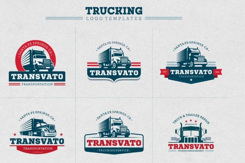 Creative Trucking Logo Templates