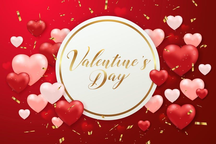 Creative Valentines Day Background