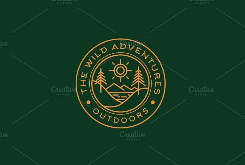 Creative Vector Adventure Badge