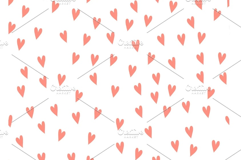 Creative Vector Hearts Background