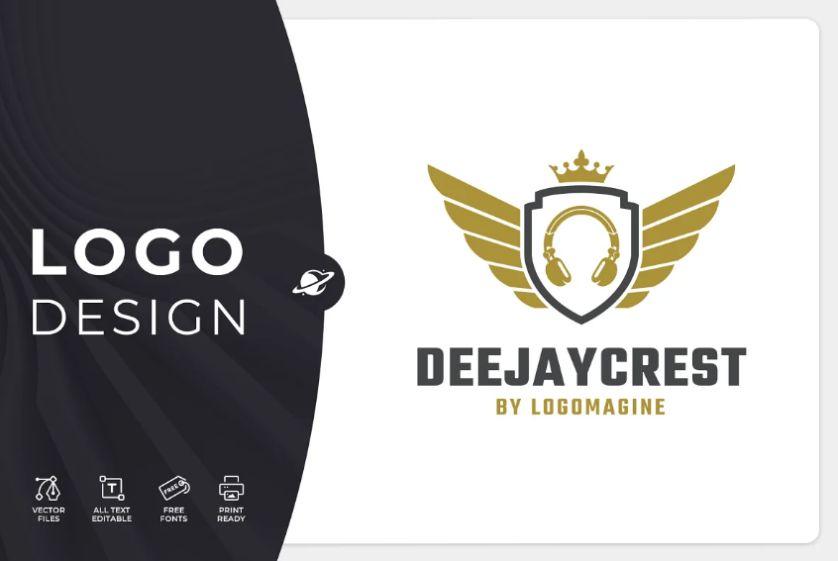 Crest Style Logo Designs
