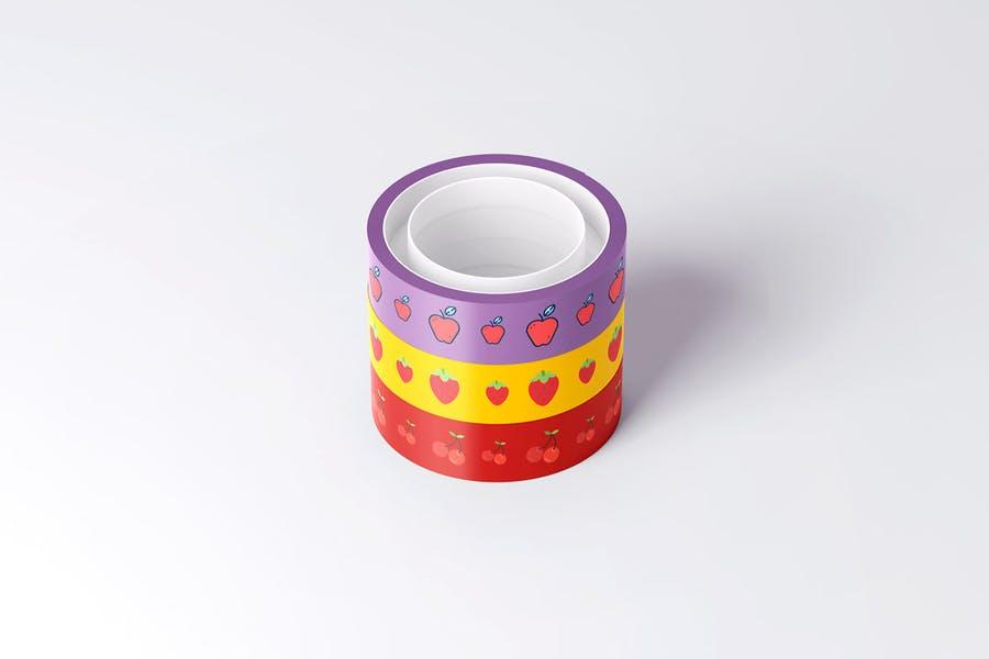 Customizable Tape Branding Design