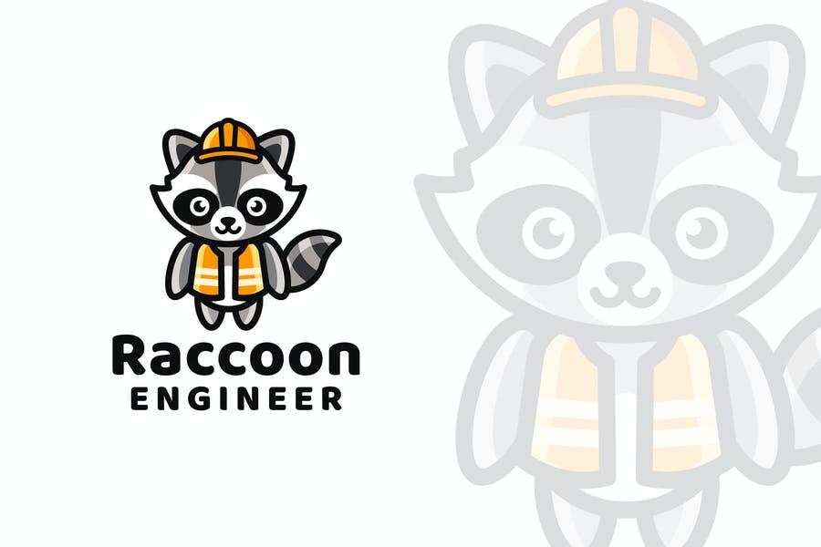 Cute Engineer Logo Design