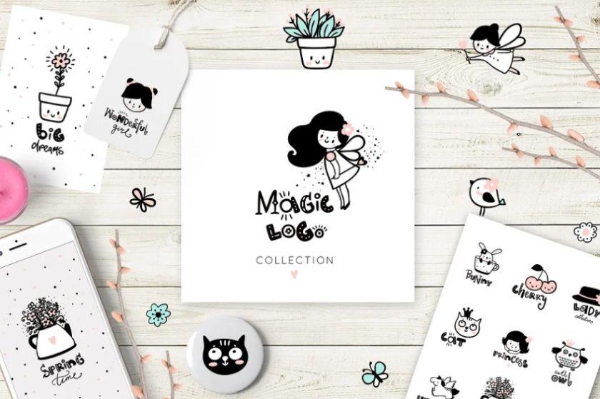 Cute Magic Logo Creator