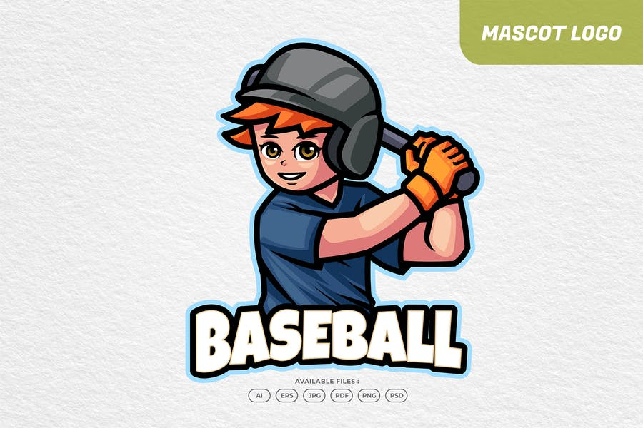 Cute Sports Team Logo Design