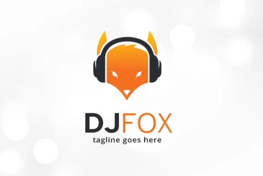 DJ Fox Identity Designs