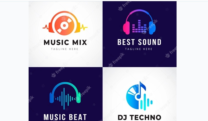 DJ Mix Logo Templates