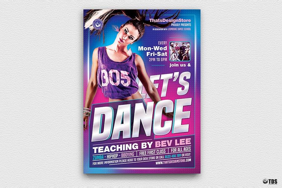 Dance Studio Promotional Flyer