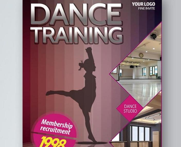 Dance Training Flyer Template
