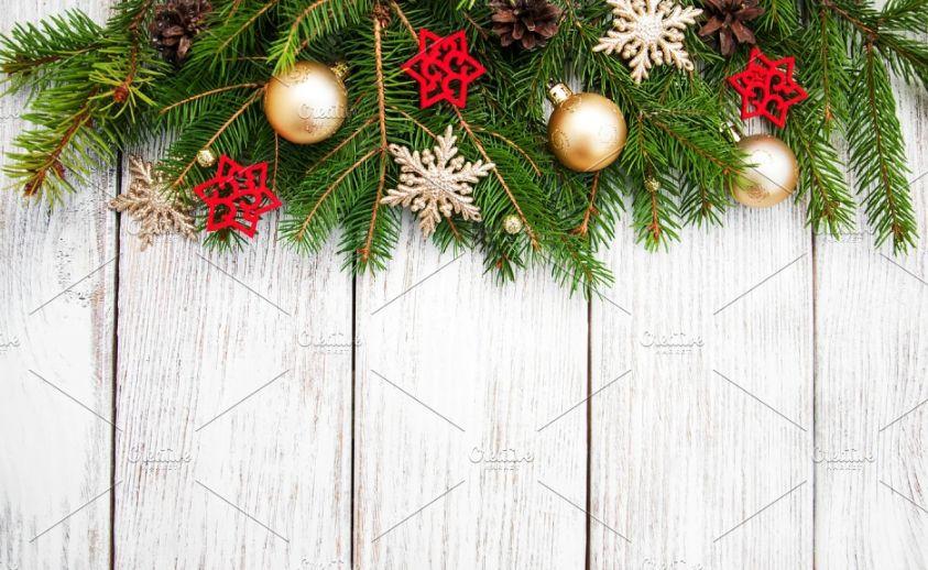 Decoration Christamas Background