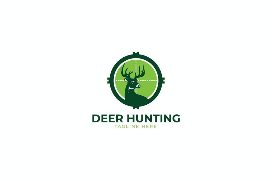 Deer Hunting Logo Designs