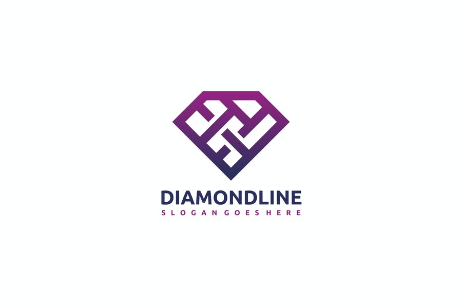 Diamond Line Branding Design