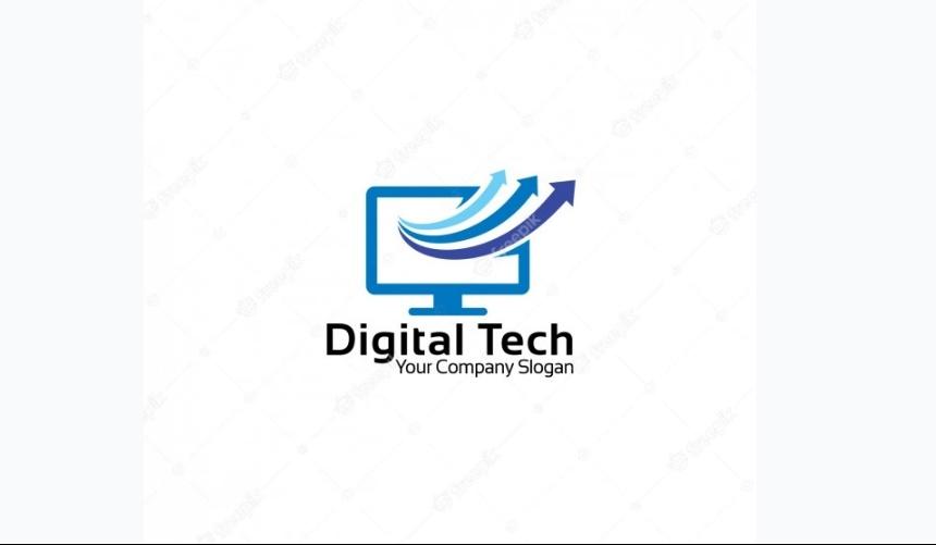 Digital Tech Company Logo