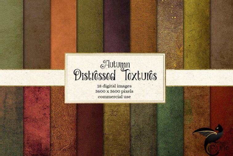Distressed and Grunge Backgrounds