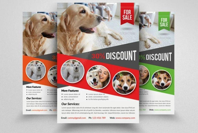 Dog Checkup Flyer Template