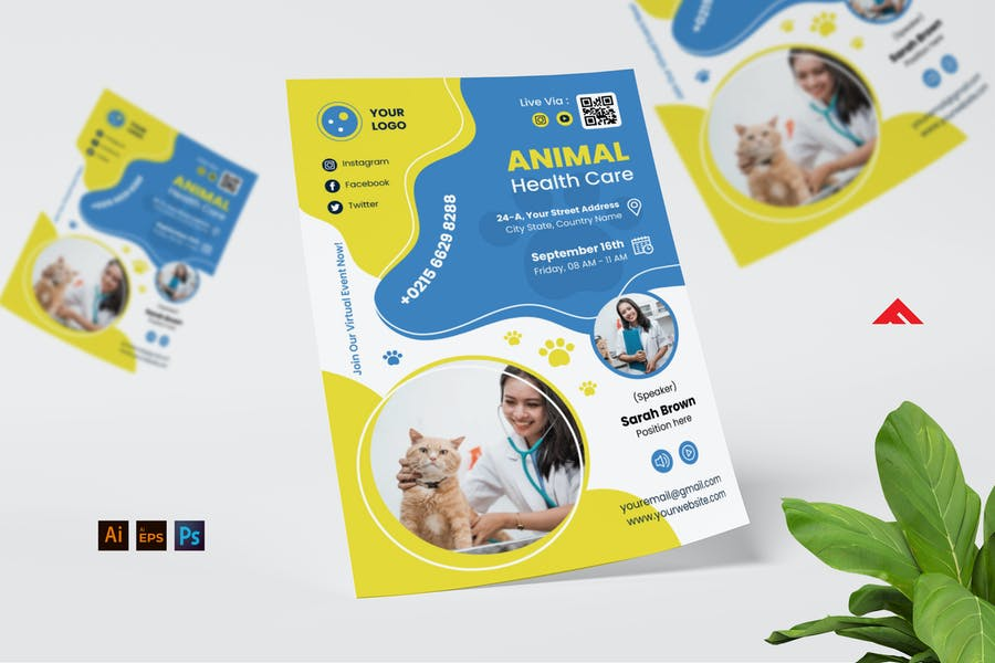Dog Kennel Business Flyer