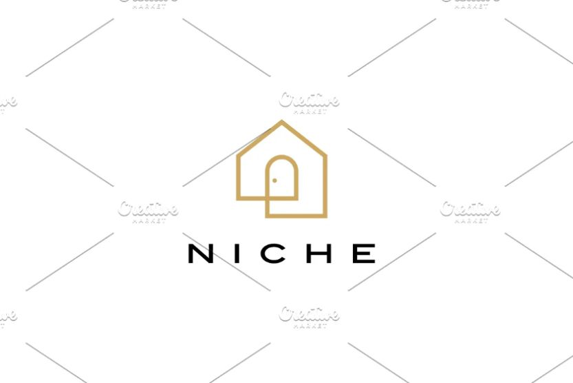 Door and House Logo Template