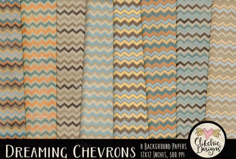 Dreamy Style Beach Chevron Designs