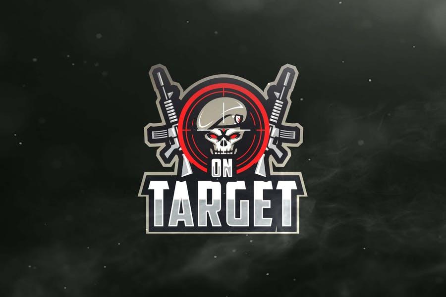 E Sports Gun Logo