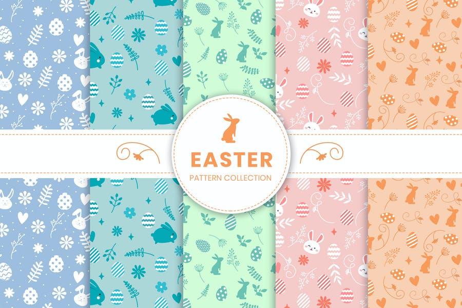 Easter Day Pattern Design