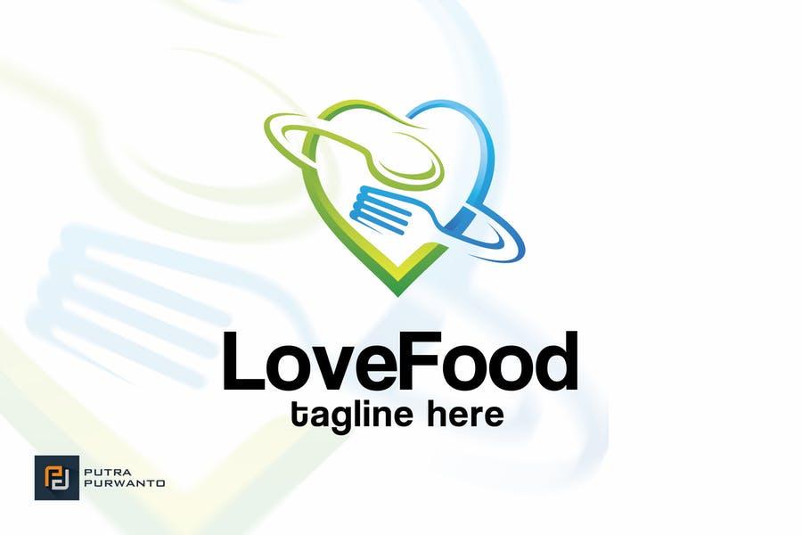 Editable Food Logo Design