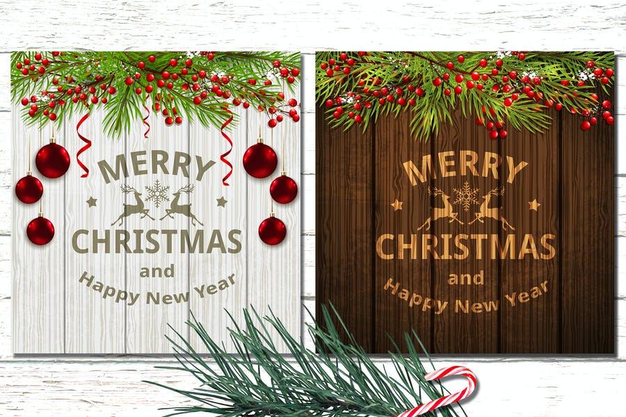 Editable Christmas background