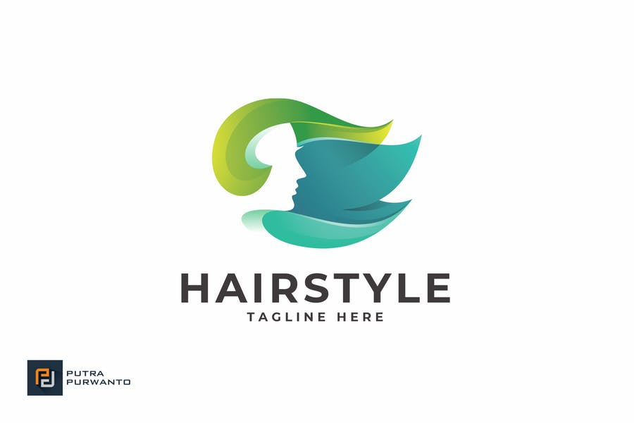 Editable Hairstyle Branding Identity