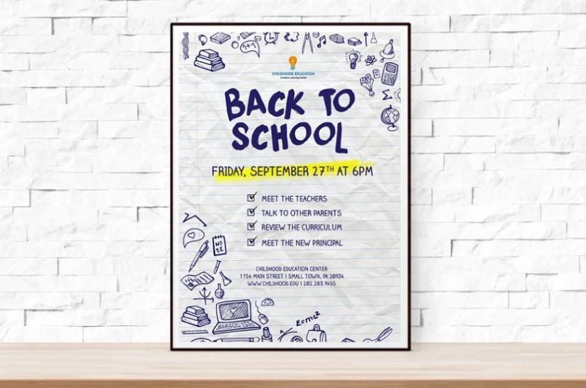 Editable School Flyer Templates