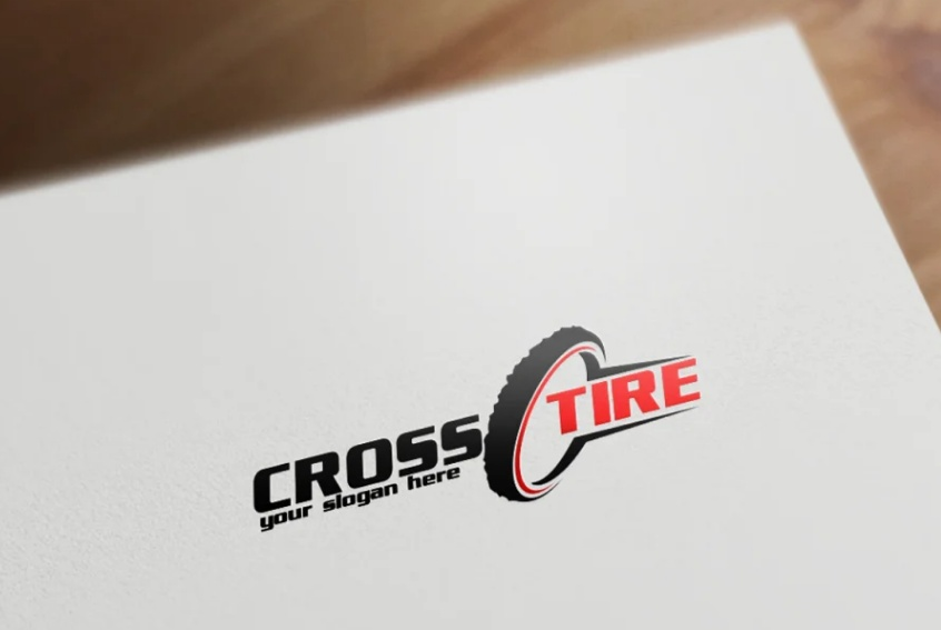 Editable Tire Vector Design