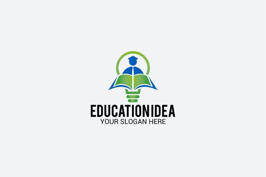 Education Idea Logo Design