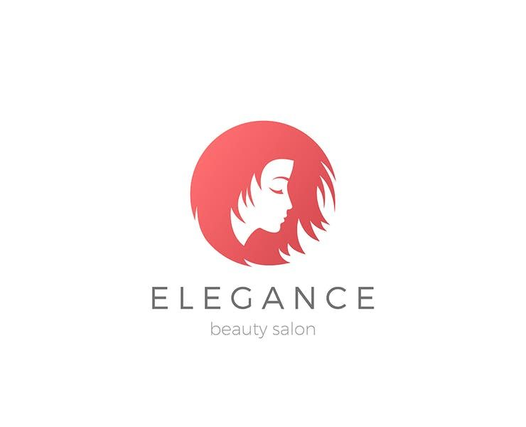 18+ Beautiful Hair Logo Designs Template Download