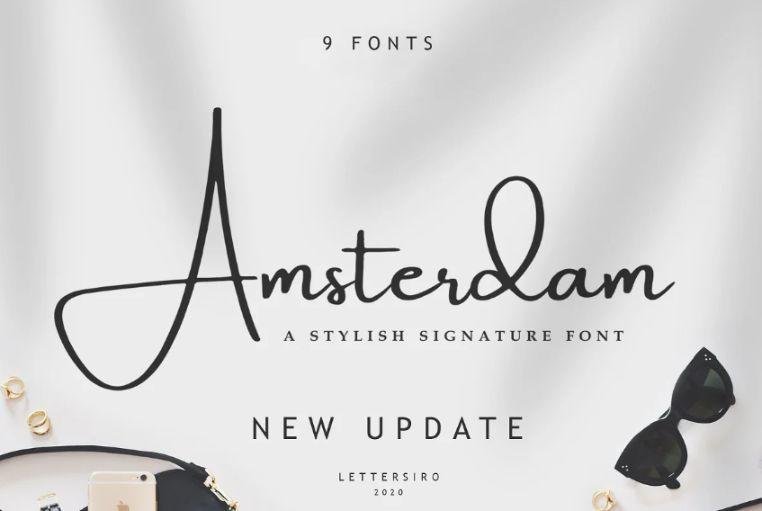 Elegant Adventure Typeface
